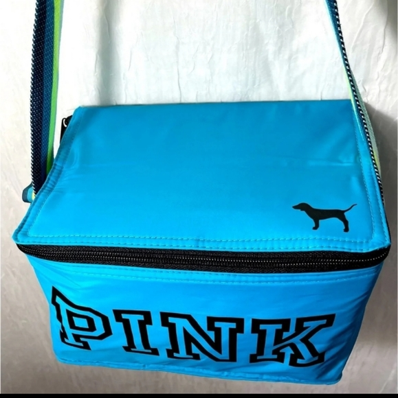 Pink Victoria's Secret insulated lunch bag